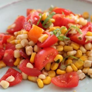 Fresh Corn & Basil Salad