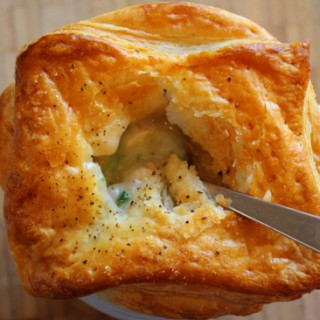 Not Your Childhood Chicken Potpie
