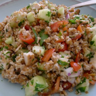 Chicken & Buckwheat Salad