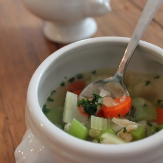 Chicken & Buckwheat Soup