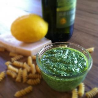 Lemon & Basil Pesto