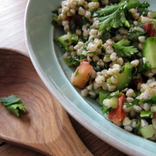Buckwheat Tabbouleh in Israel