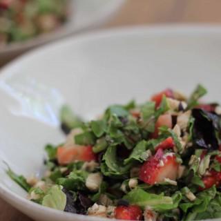 Chicken & Strawberry Balsamic Chopped Salad
