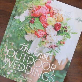 The Knot Outdoor Weddings {review}